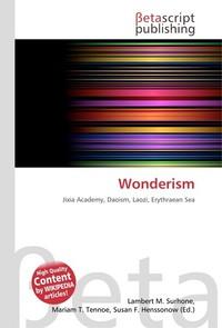 Wonderism. Lambert M. Surhone