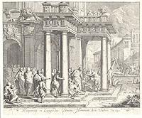Respondit ei Languidus Domine Hominem Non Habeo (�������, ��������, ����� XVII ����)306-14183/EifelTower������� �� ���� ����� XVII ����. ������ ������ ��� ����� (1663-1732). � ��������� ��������� ��� ��� ����� (1665-1735). ����������� �������. ������� �������� �� ���� ������� ����� ������. ������ ����� 26 � 21,5 ��, ������ ����������� 24,7 � 20,5 ��. ������� ������������ ����� 5 ��������� �� ������ (��.7-9): 7. ����� ������� ��: ��������� ������ �����. � ��������� �� �� �����. 8. � ������� ��: ������ ���������� � ������ � ������������� ����. � �������. 9. ����� �� ������������� ������� ����, ����������� �����, � � �� �� ����, ������ ��� ����, ����� ������ ���������, ����������� ����. �� �������� ������ �� ������� ���������� ���������.