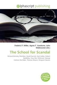school for scandal essay