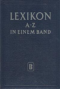Lexikon A - Z in einem band