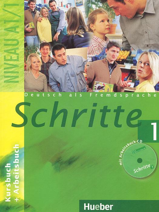 Schritte1: Kursbuch + Arbeitsbuch (+ CD-ROM)