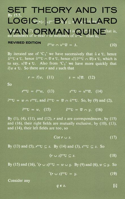 Set Theory and Its Logic