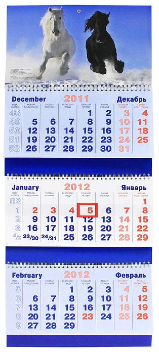 Календарь 2012 (на спирали). Лошади