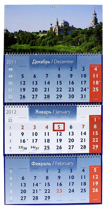 Календарь 2012 (на спирали). Торжок
