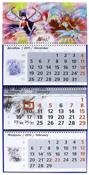 Календарь 2012 (на спирали). Winx