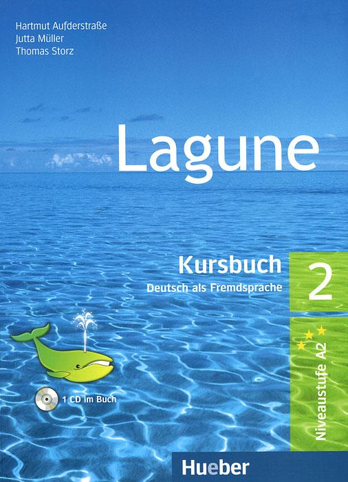 Lagune: Kursbuch Deutch als Fremdsprache 2 (+ CD-ROM)