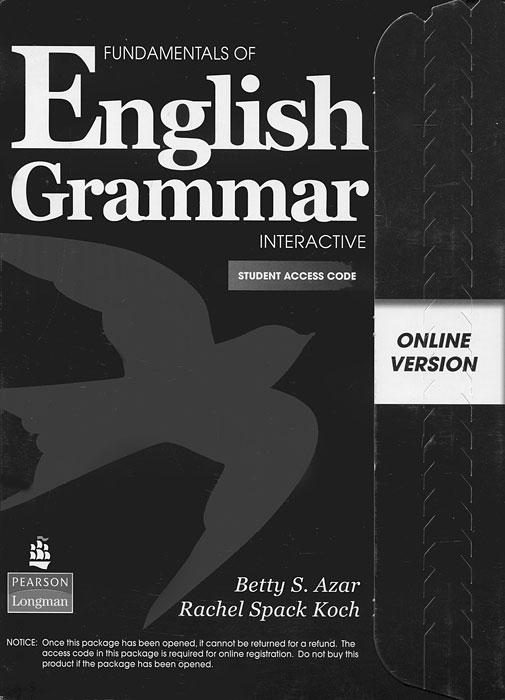 Fundamentals of English Grammar: Interactive: Student Access Code