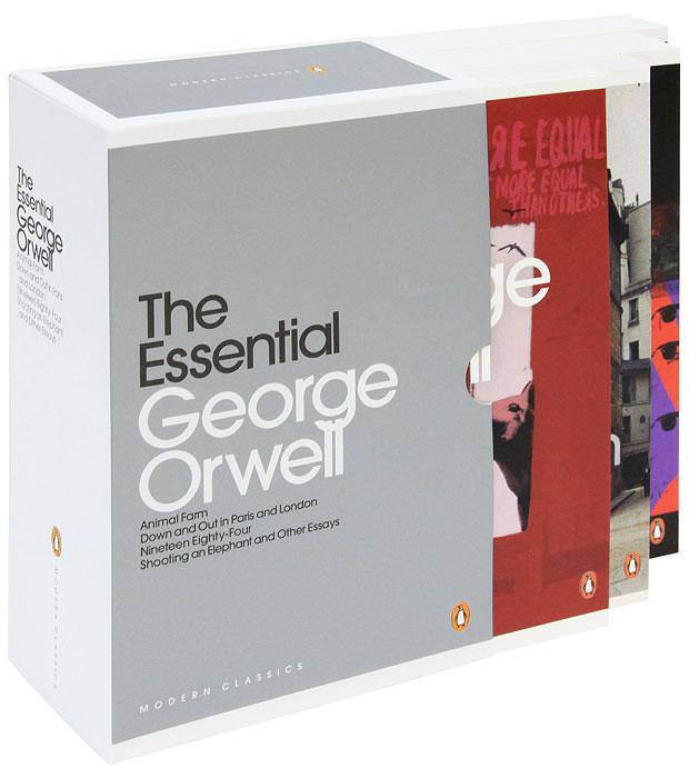 George Orwell: The Essential (комплект из 4 книг)