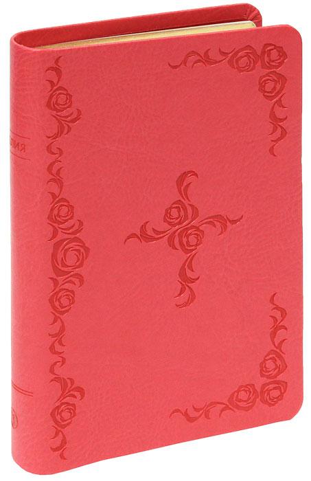 048 крест из роз,термо винил, красный, средний формат, 130*195 мм,парал. места по центру страницы, 2