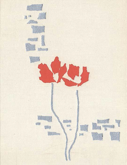 Багряные цветы