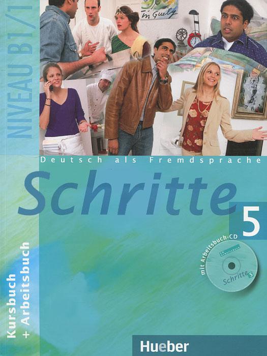 Schritte 5: Kursbuch und Arbeitsbuch (+ CD-ROM)