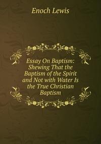 process and symbolism of baptism