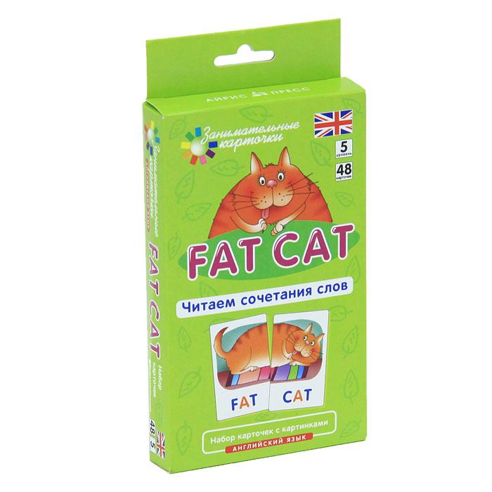 Fat Cat. Читаем сочетания слов. Набор карточек