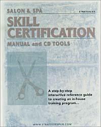 Salon & Spa Skill Certification Manual and CD Tools