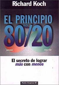Principio del 80/20, El. Richard Koch