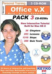 Microsoft Office v.X Training by Keyko