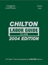 Chilton Labor Guide: Cd-Rom Version 5.0 : 1981-2004 (Labor Guide)
