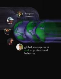 Global Management and Organizational Behavior
