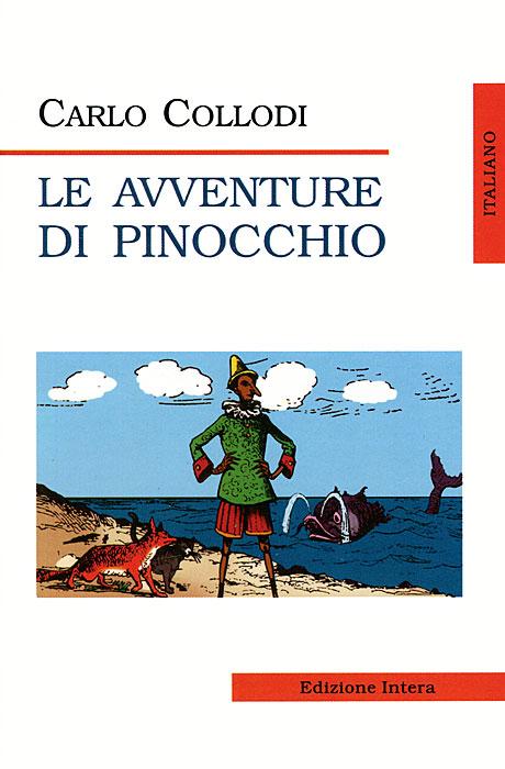 Книга Le avventure di Pinocchio