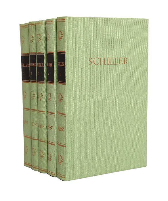 Shillers Werke (комплект из 5 книг)