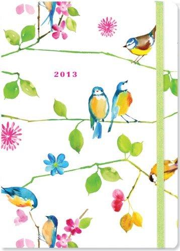 Купить 2013 Watercolor Birds Compact Engagement Calendar (16-month Weekly Planner), Peter Pauper Press