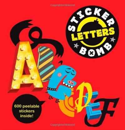 Stickerbomb Letters (Studio Rarekwai)