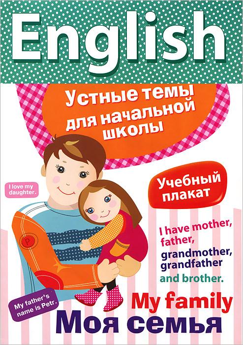 Meet My Family / Моя семья. Плакат