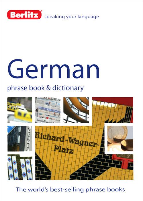 Berlitz: German Phrase Book and Dictionary