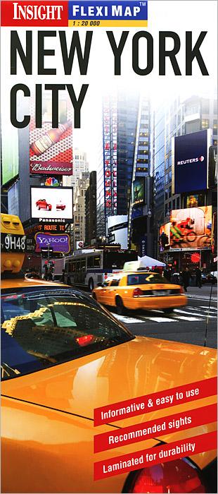 New York City: Flexi Map