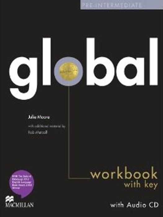 Global Pre-intermediate: Workbook with Key (+ CD-ROM)
