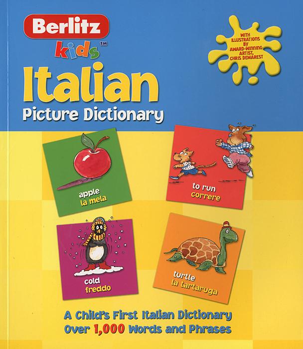 Berlitz Kids: Italian Picture Dictionary ( 9789812463906 )