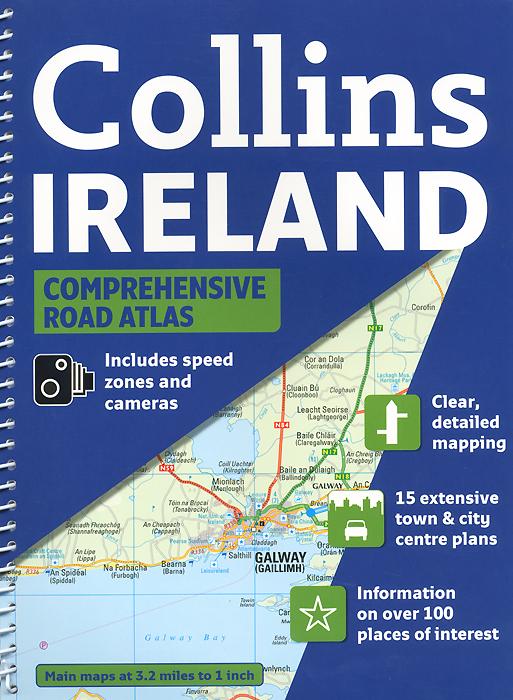 Collins: Ireland: Comprehensive Road Atlas.