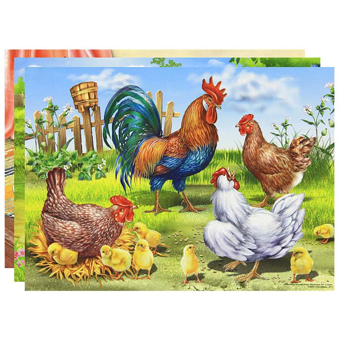 Купить Развитие речи в картинках: животные.  Демонстрационный материал к пособиям О. С...