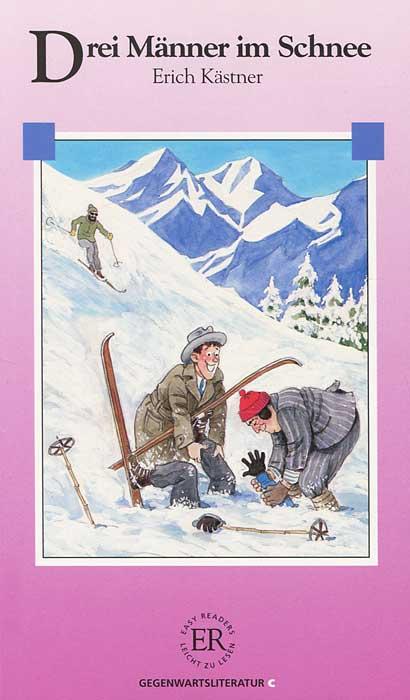 Drei Manner im Schnee
