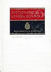 Diccionario de la lengua espanola, 2 tomos