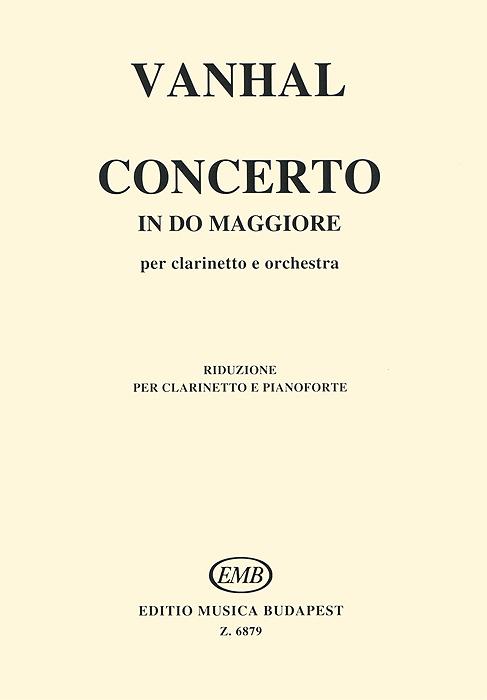 Vanhal: Concerto in do maggiore per clarinetto e orchestra