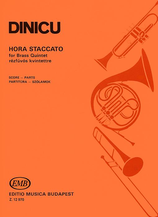 Dinicu: Hora Staccato for Brass Quintet Rezfuvos Kvintettre
