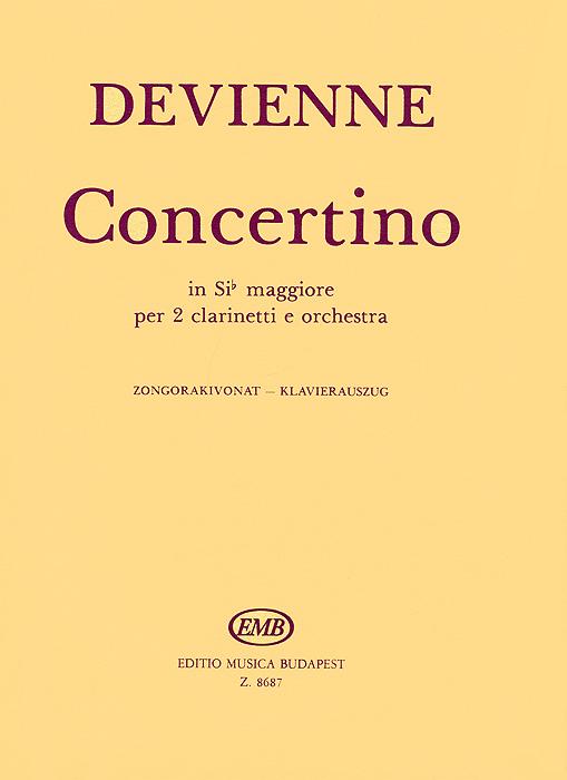 Devienne: Concertino in Sib Maggiore per 2 Clarinetti e Orchestra