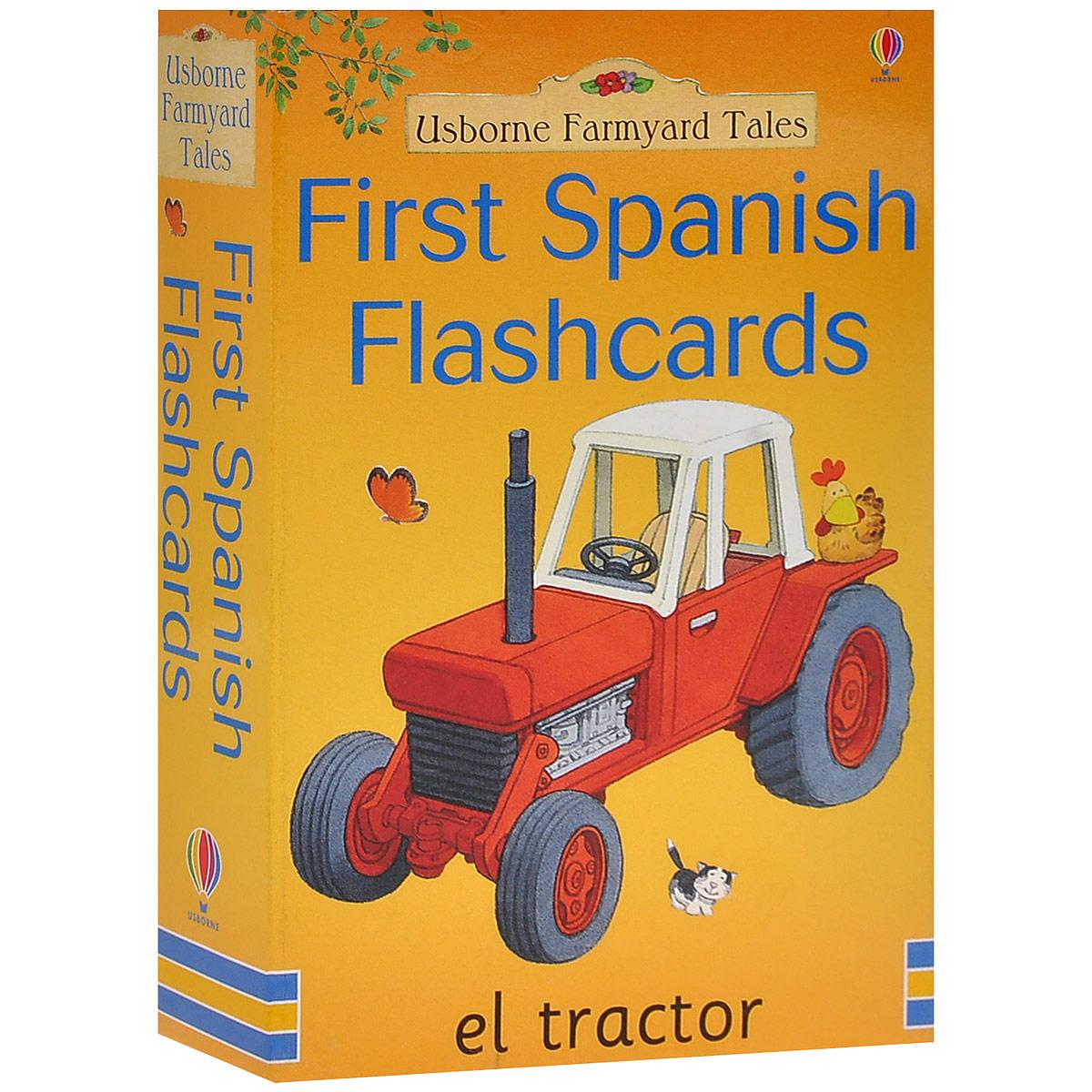 First Spanish Flashcards (набор из 50 карточек) ( 978074605572-4 )