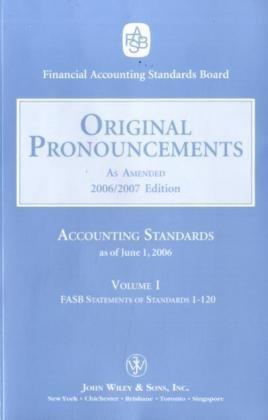 2006 Original Pronouncements, Volume 1–3