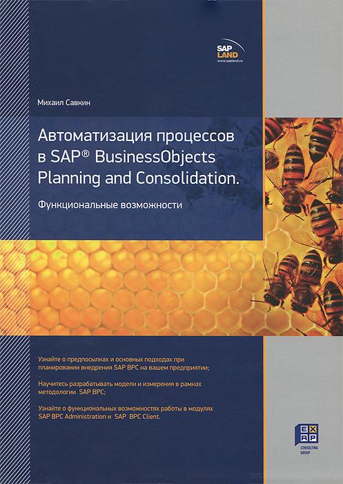 Автоматизация процессов в SAP BusinessObjects Planning and Consolidation. Функциональные возможности ( 978-5-903958-05-4 )