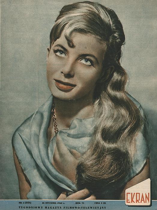"""Журнал """"Ekran"""". № 4 (251) за 1962 год"""