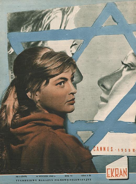 """Журнал """"Ekran"""". № 2 (249) за 1962 год"""