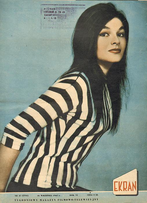 """Журнал """"Ekran"""". № 37 (284) за 1962 год"""