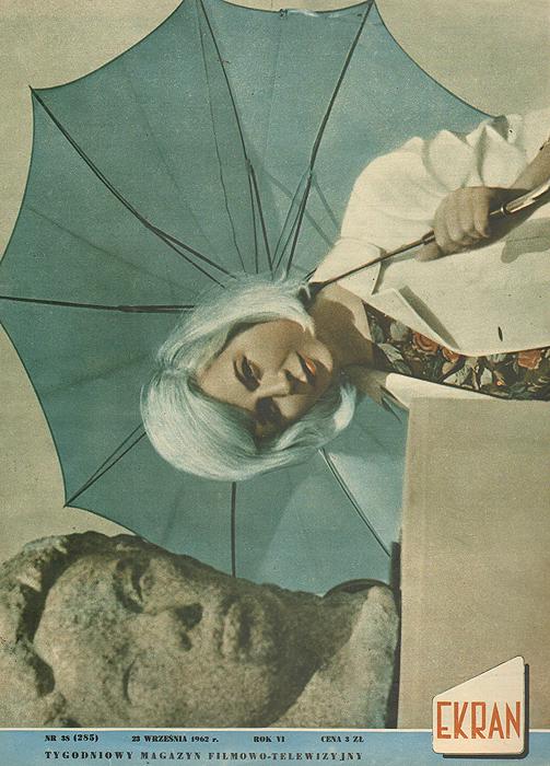 """Журнал """"Ekran"""". № 38 (285) за 1962 год"""