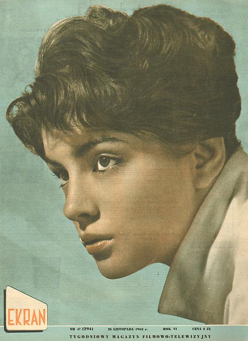 """Журнал """"Ekran"""". № 47 (294) за 1962 год"""