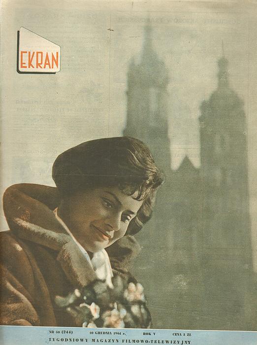 """Журнал """"Ekran"""". № 50 (244) за 1961 год"""