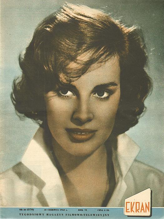"""Журнал """"Ekran"""". № 23 (270) за 1962 год"""