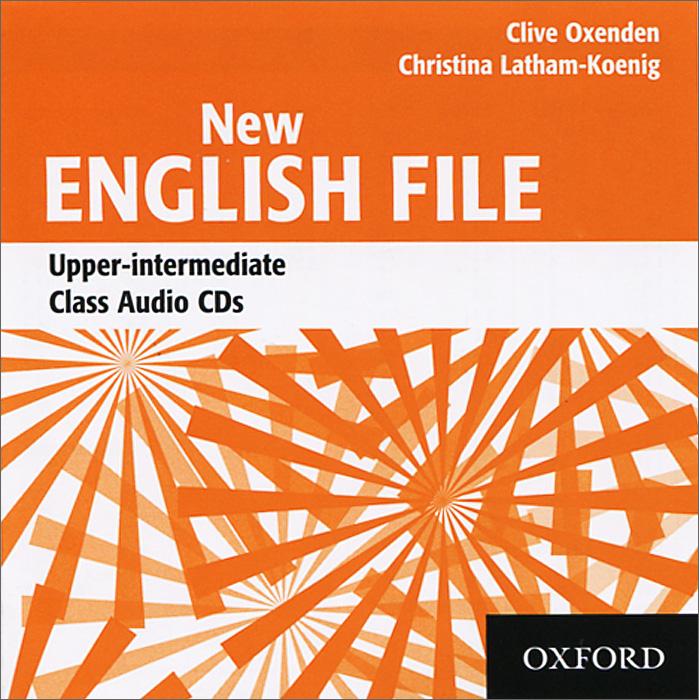 New English File: Upper-Intermediate: Class Audio CDs (аудиокурс на 4 CD)