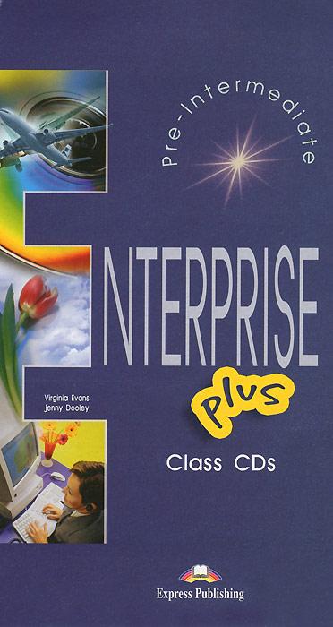 Enterprise Plus: Class Audio CDs (аудиокурс на 5 CD)
